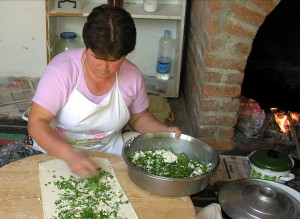 Making Gozleme from A New Book of Middle Eastern Food